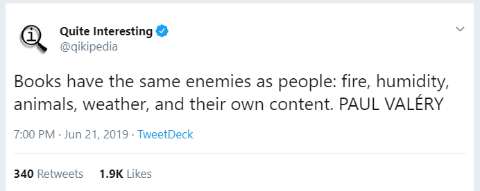 The best bookish tweets of June 2019 9