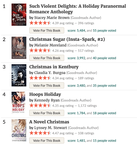 Blogmas 16: best holiday romances of 2018 1
