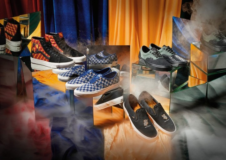 Vans shoes meet Harry Potter 1