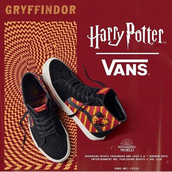 Vans shoes meet Harry Potter 2