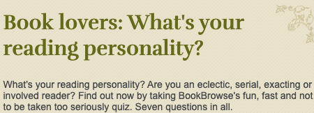 Quiz: What's your reading personality? 15