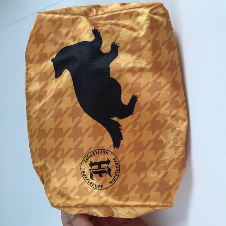 Hufflepuff travel pouch