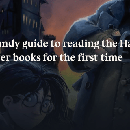 Reading harry potter for the first time