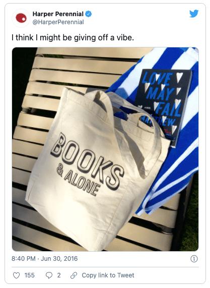 Hilarious bookish tweets 3