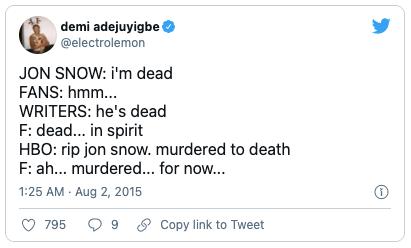 Hilarious bookish tweets 6