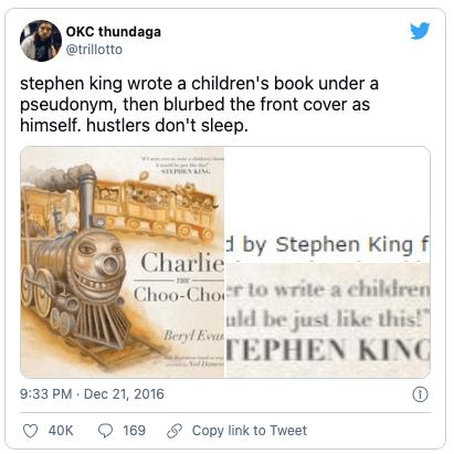 Hilarious bookish tweets 8