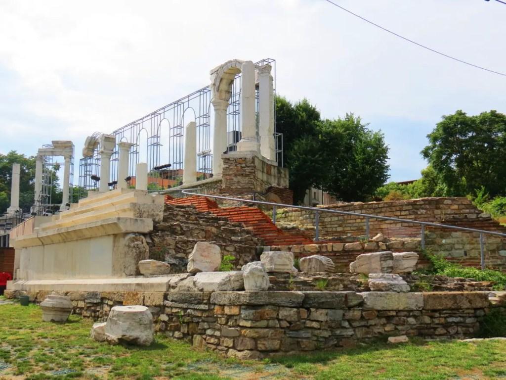 The city of Stara Zagora in Bulgaria