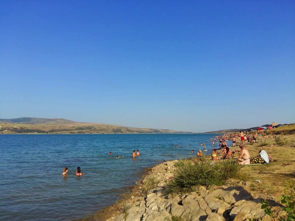 swimming in the tbilisi sea