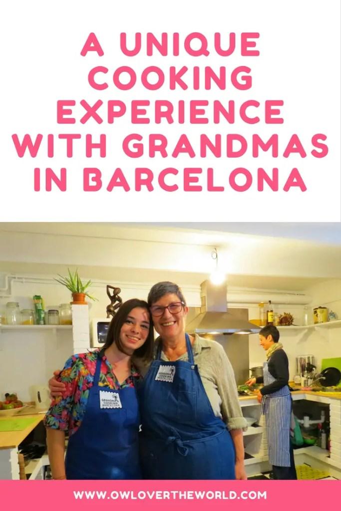 unique cooking experience with gradnmas in barcelona