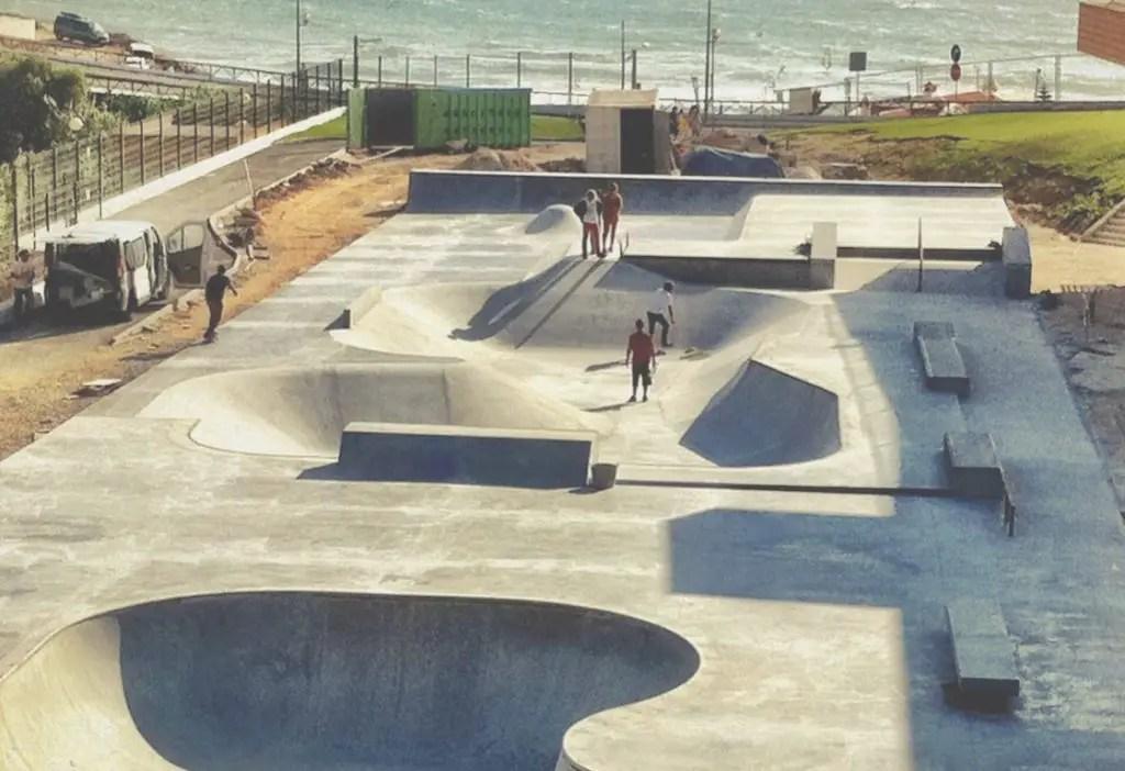 Skate park in Ericeira
