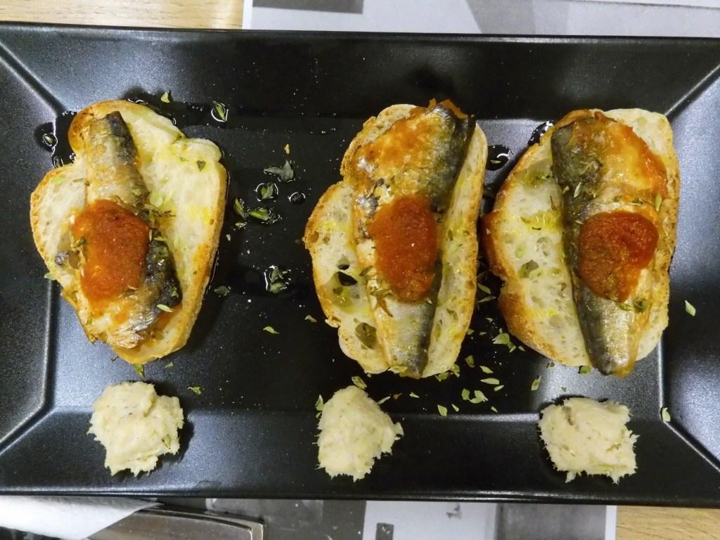 Portuguese cuisine: sardines