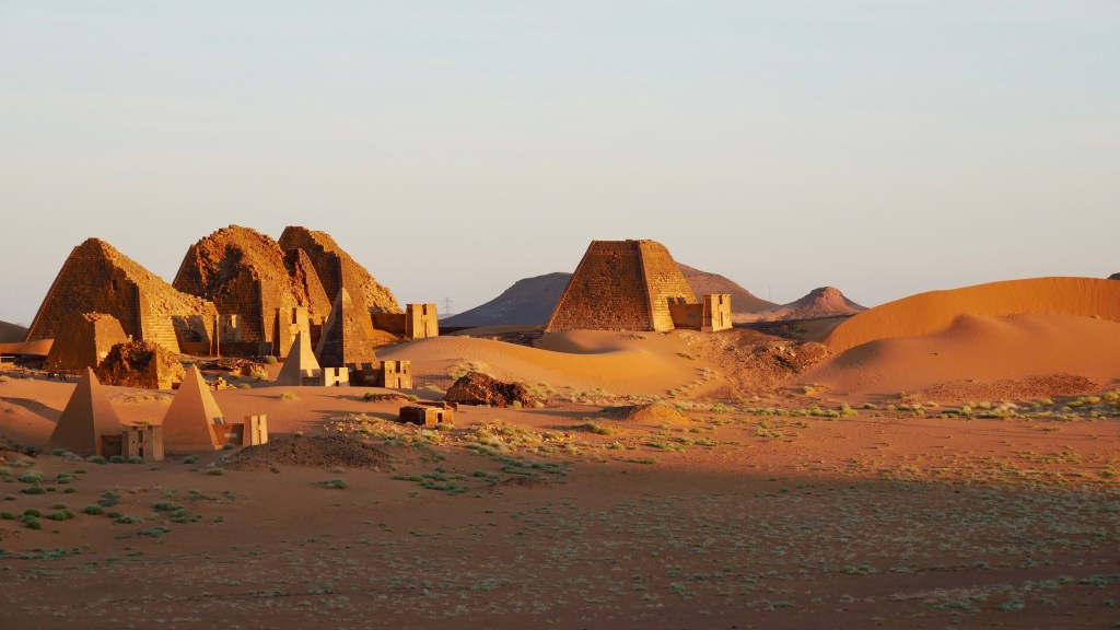 best-places-to-visit-in-north-africa-Meroe-Pyramids-Sudan