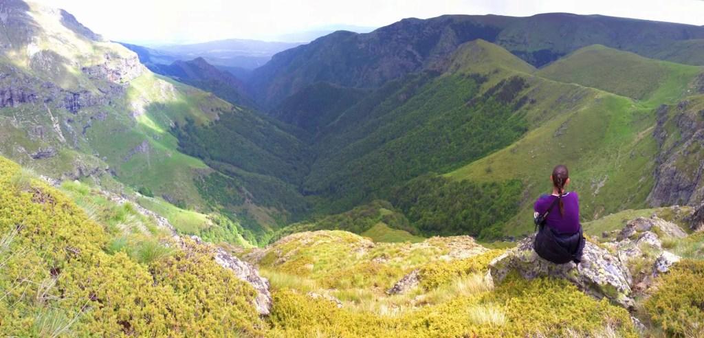 central balkan mountain in spring