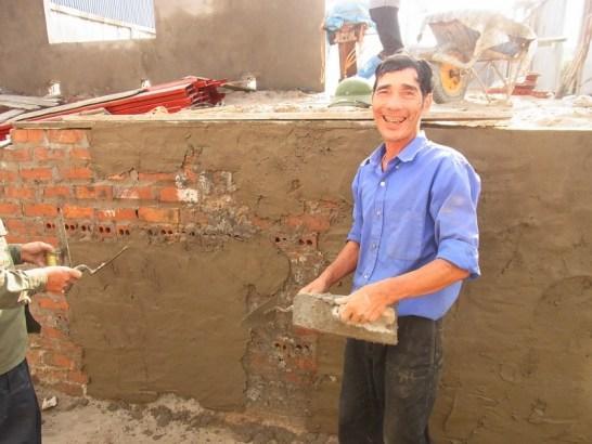 ベトナム:楽しそうな作業員さん達