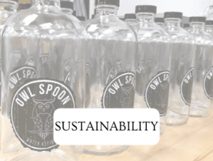 Owl Spoon Water Kefir Sustainability