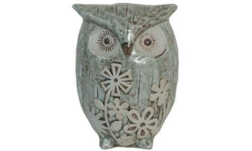 Charming Ceramic Owl Figurine