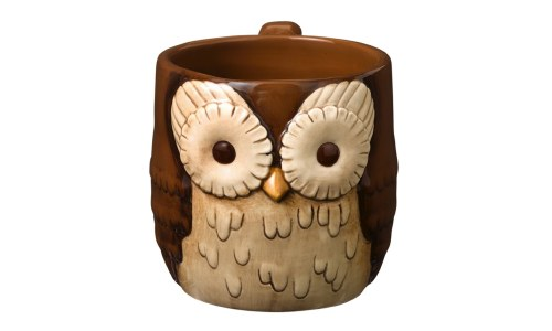 Grasslands Road Crimson Hallow Owl Mug