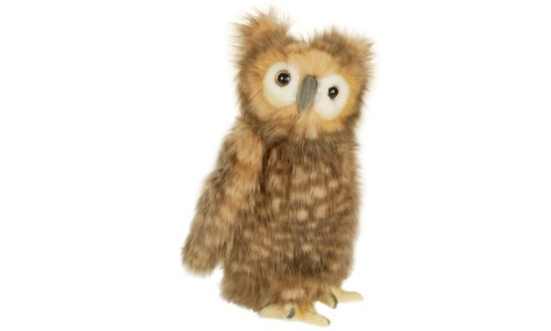Hansa Owl Plush 10 Inch Brown Owl Stuffed Animal