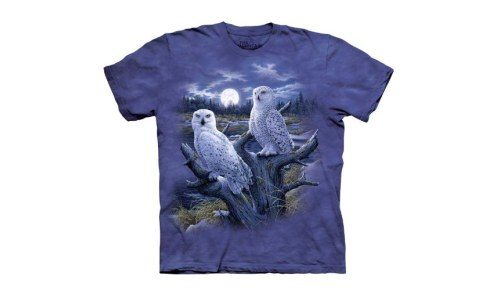 Snowy Owls T-Shirt Professionally Designed