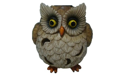 Welland Owl Garden Statue with Solar Light