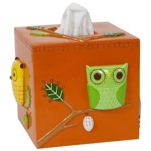 Owl Tissue Holder