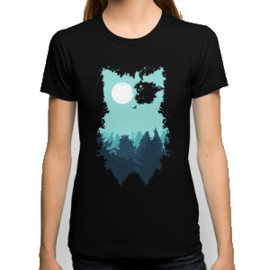 Abstract Unique Owl Shirt