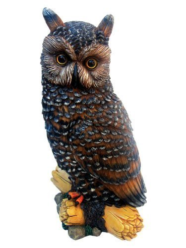 Hocus Pocus the Owl Resin Statue By Micheal Carr Figurine Decor
