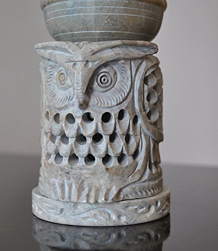 Owl Shaped Oil Diffuser with Tea Light Candle