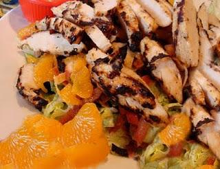 chili caribbean chix salad