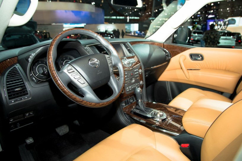 2017 Nissan Armada Interior HD Wallpaper