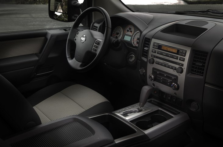 2011 Nissan Titan Interior HD Wallpaper