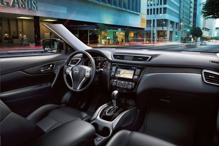 2016 Nissan Rogue Interior HD Wallpaper