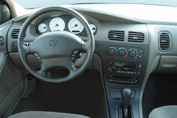 2003 Dodge Intrepid Interior and Redesign