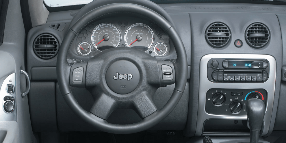 2004 Jeep Liberty Interior and Redesign