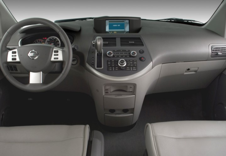 2007 Nissan Quest Interior HD Wallpaper