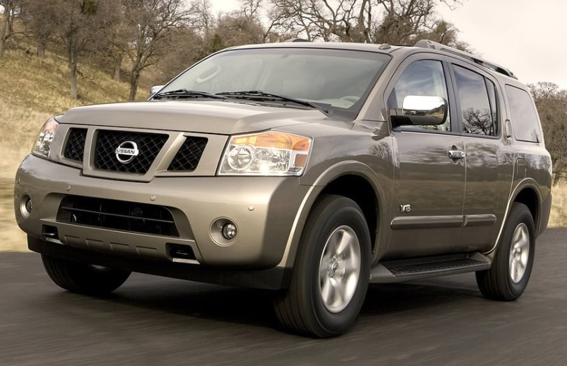 2008 Nissan Armada Concept HD Wallpaper
