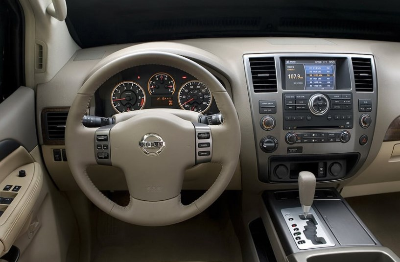 2008 Nissan Armada Interior HD Wallpaper
