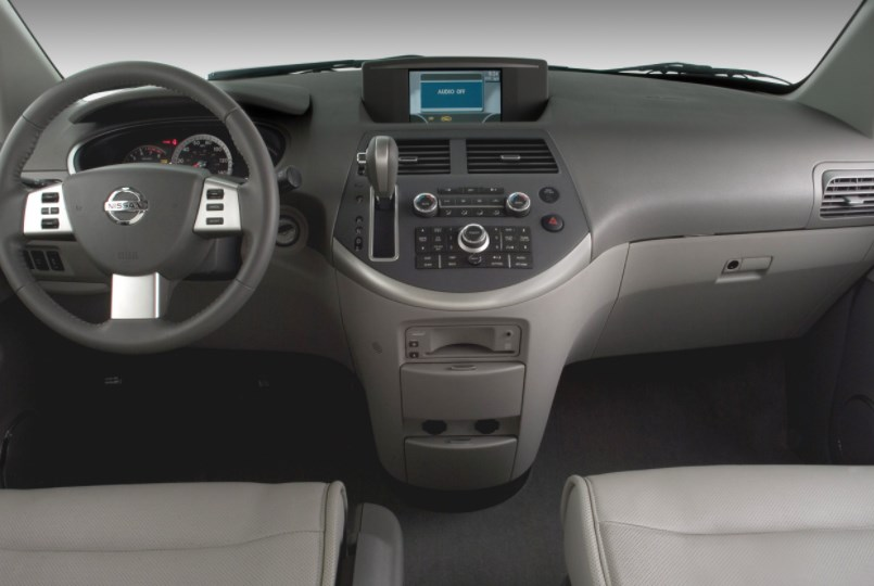 2008 Nissan Quest Interior HD Wallpaper