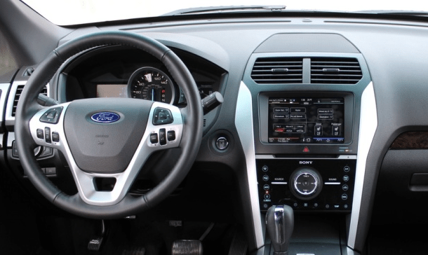 2011 Ford Explorer Interior and Redesign