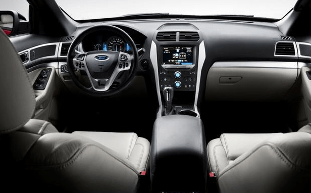 2012 Ford Explorer Interior and Redesign