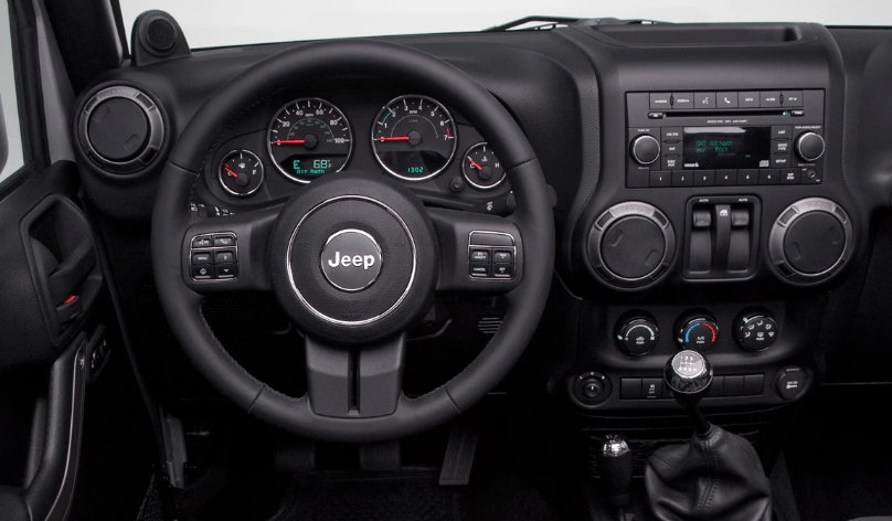 2012 Jeep Wrangler Interior and Redesign