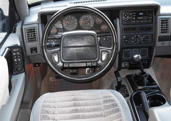 1992 Jeep Cherokee Interior and Redesign