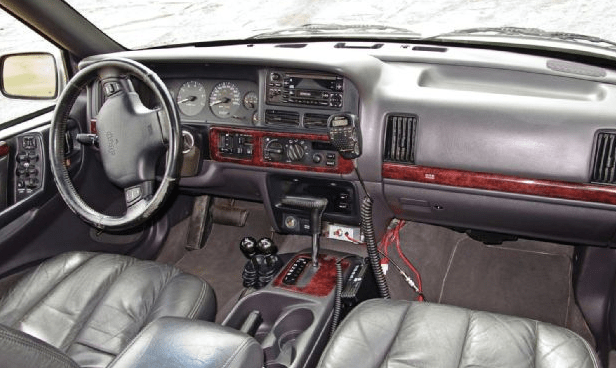 1996 Jeep Grand Cherokee Interior and Redesign