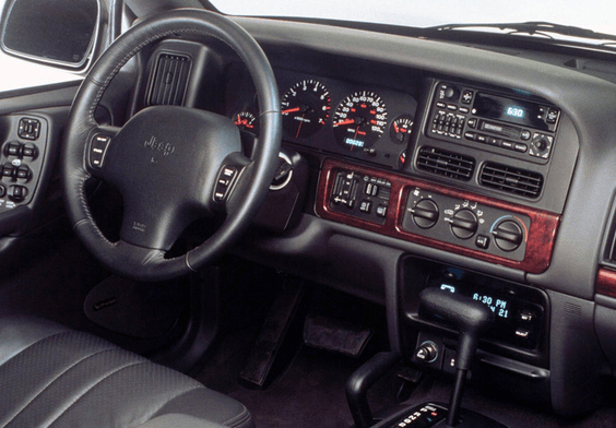 1997 Jeep Grand Cherokee Interior and Redesign