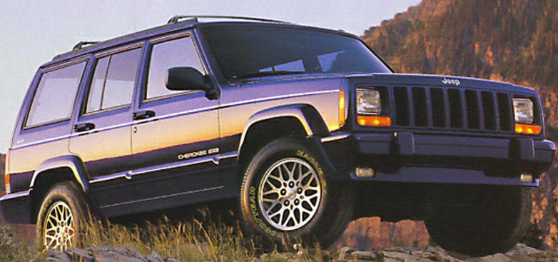 1998 Jeep Cherokee Owners Manual and Concept