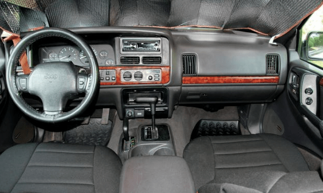 1998 Jeep Grand Cherokee Interior and Redesign