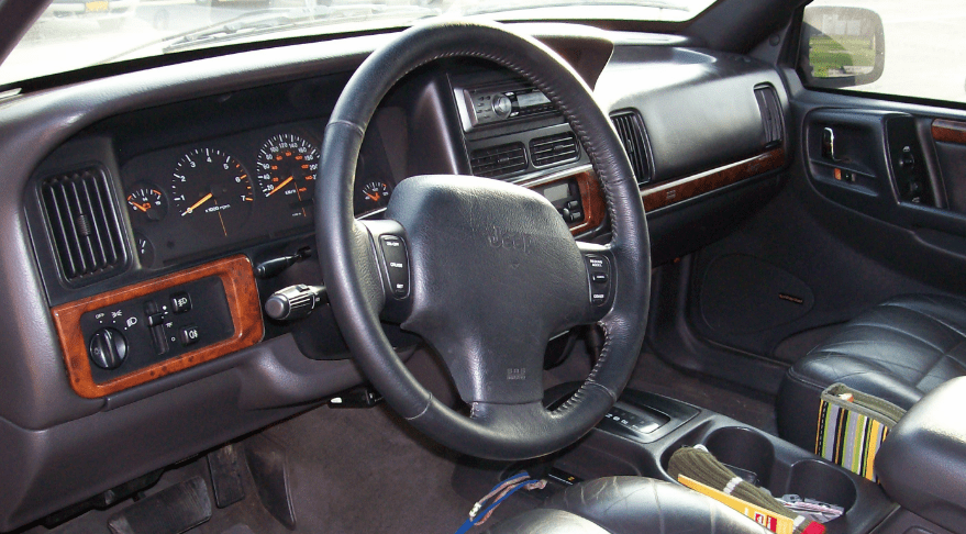 2000 Jeep Grand Cherokee Interior and Redesign