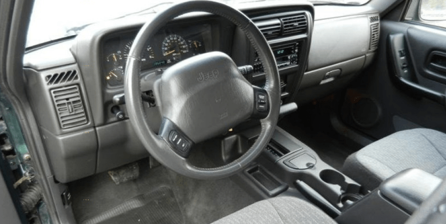 2001 Jeep Cherokee Interior and Redesign