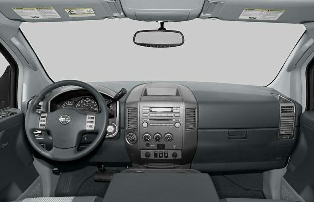 2005 Nissan Titan Interior HD Wallpaper