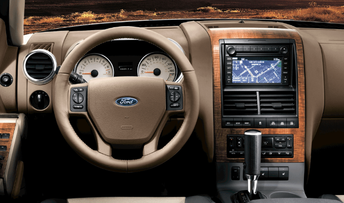 2007 Ford Explorer Interior and Redesign